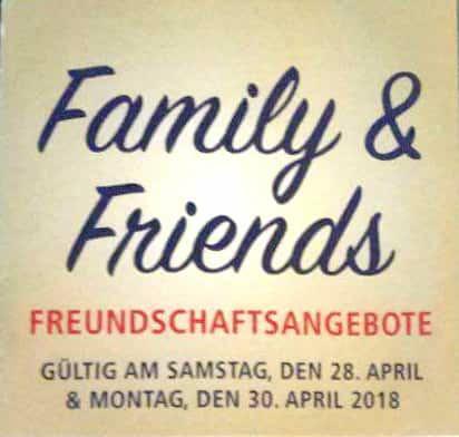 [Real Bundesweit] Family & Friends vom 28.04.2018 - 30.04.2018 Nintendo Switch für 266,49€ und 25% auf Lego!