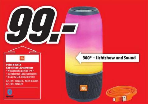 [Lokal Koblenz] Media Markt JBL Pulse 3 Lautsprecher