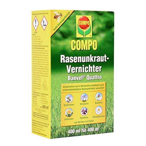COMPO Rasenunkraut-Vernichter Banvel Quattro 400ml vorbestellbar [Amazon.de Prime]