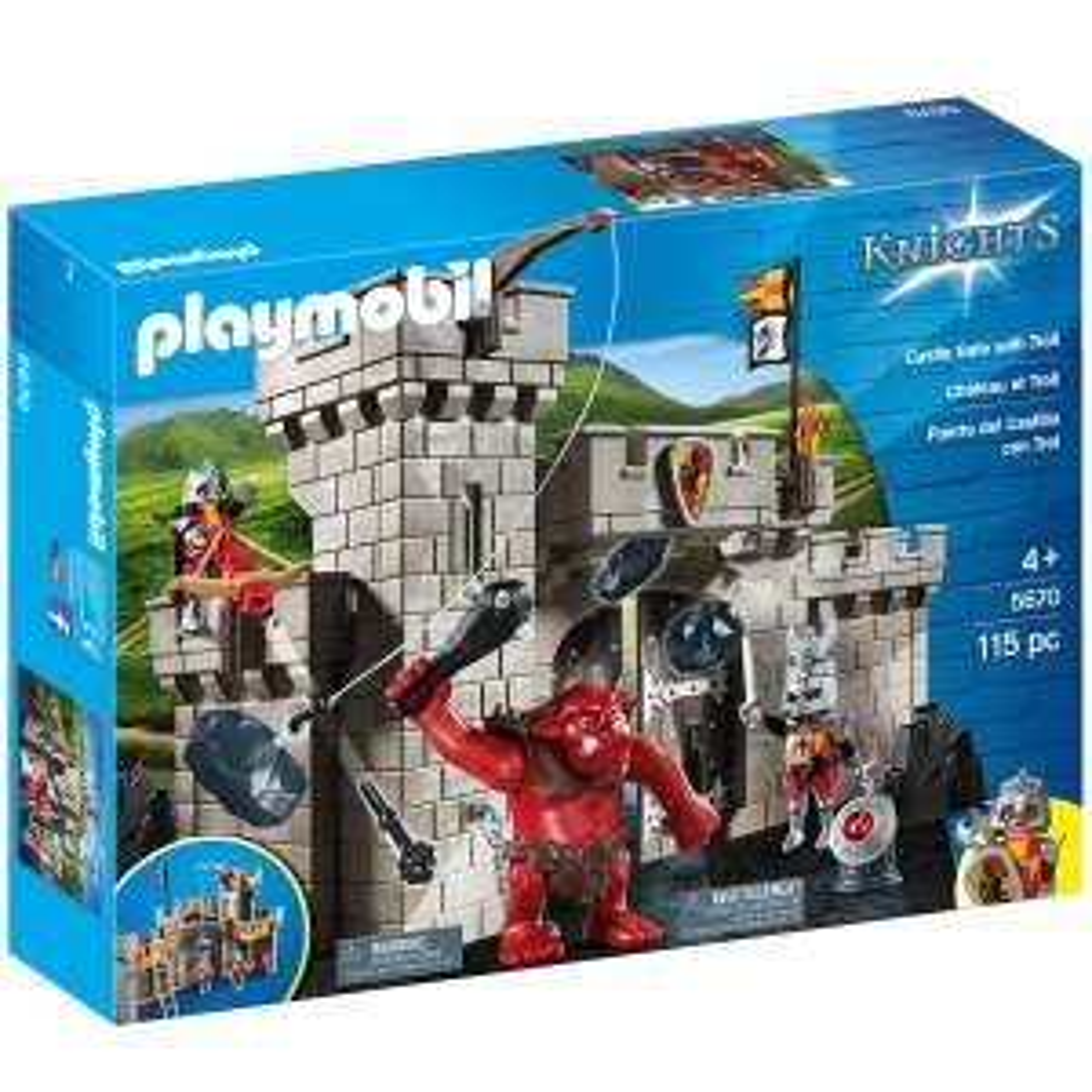 Karstadt - 2 mal PLAYMOBIL® Knights Burgtor mit Riesentroll 5670