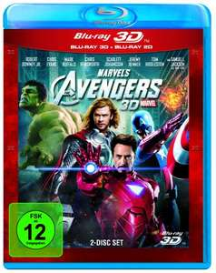 Marvel's The Avengers (3D Blu-ray + 2D) für 10,14€ & Avengers - Age of Ultron Limited Edition (3D Blu-ray + 2D) für 9,95€ (Amazon Prime)