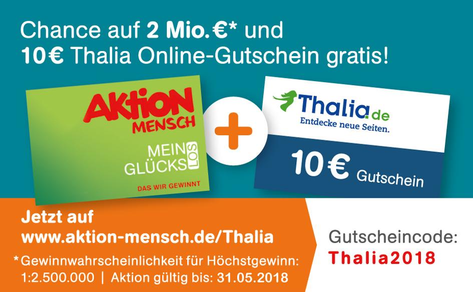 10€ Thalia Gutschein bei AktionMensch