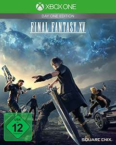 Final Fantasy XV - Day One Edition (Xbox One) für 14,99€ (Amazon Prime)