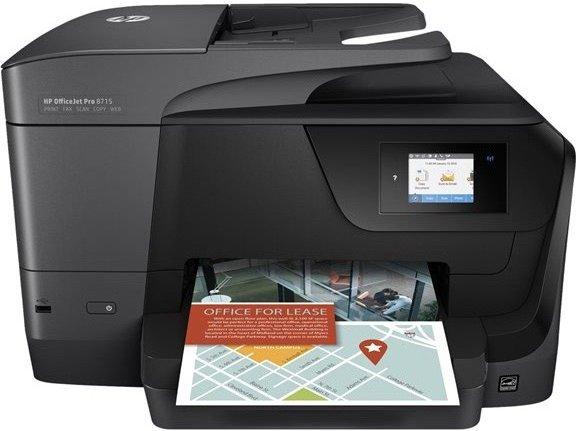 HP OfficeJet Pro 8718 Tintenstrahl-Multifunktionsdrucker für 119€