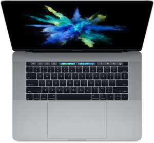 "[Schweiz Digitec] Apple MacBook Pro Space Gray (15.40"" Retina Display, Intel Core i7 2,8 GHz, 16 GB RAM, 256 GB SSD, AMD Radeon Pro 555 Grafikarte)"