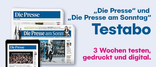 Die Presse (Kurzzeitabo) gratis/autom. endend