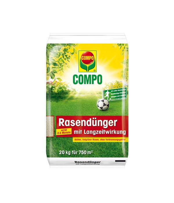 COMPO Rasendünger mit Langzeitwirkung, 20kg