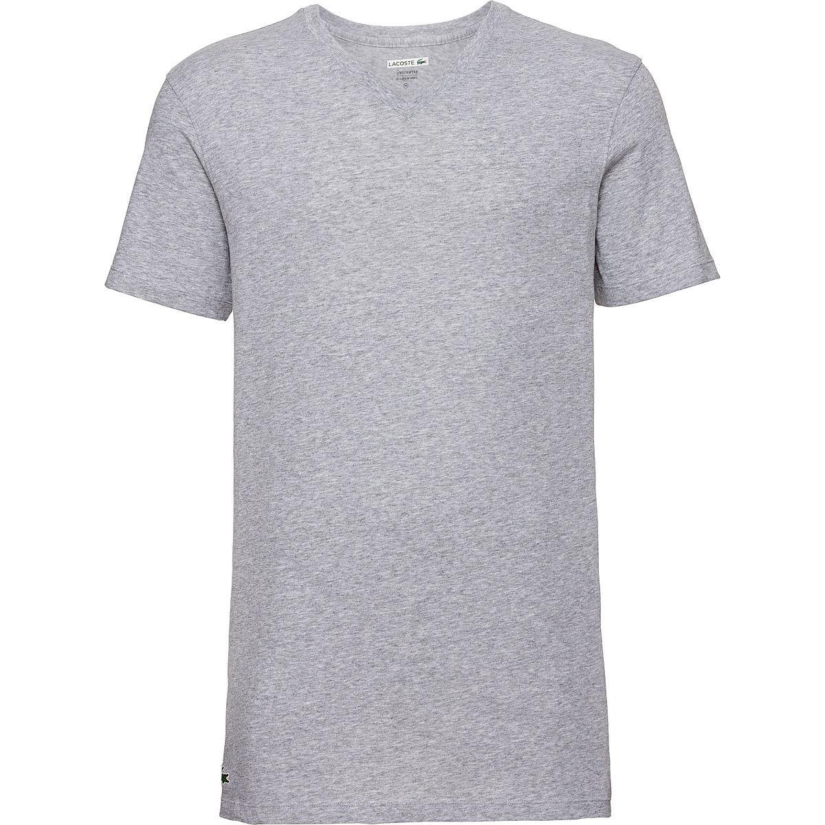 [Karstadt] Lacoste T-Shirt mit V-, oder Rundhals, 3er Pack, ggfs. -15€ (online+4,95 €)