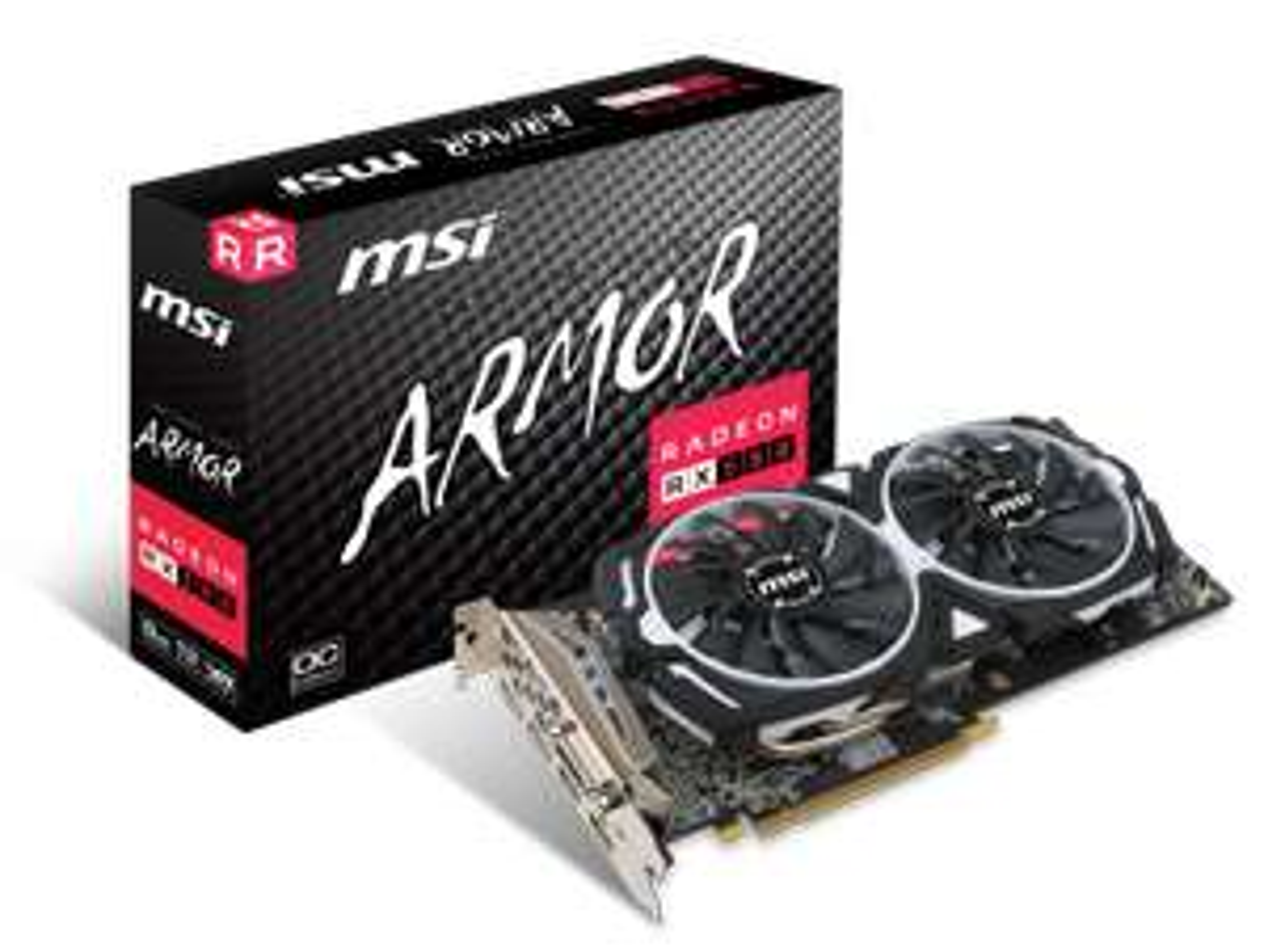 MSI ARMOR RX 580 8gb + 5 euro Versand