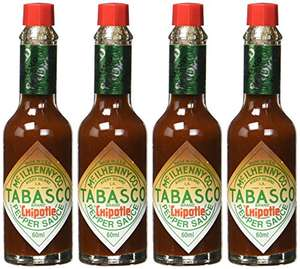 Tabasco Chipotle Sauce 4er Pack (4 x 60 ml) für 5,55€ (Amazon Prime)