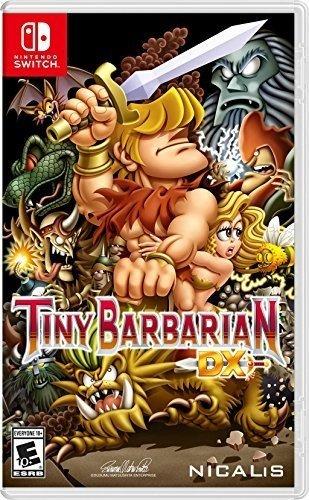 Tiny Barbarian DX Nintendo Switch