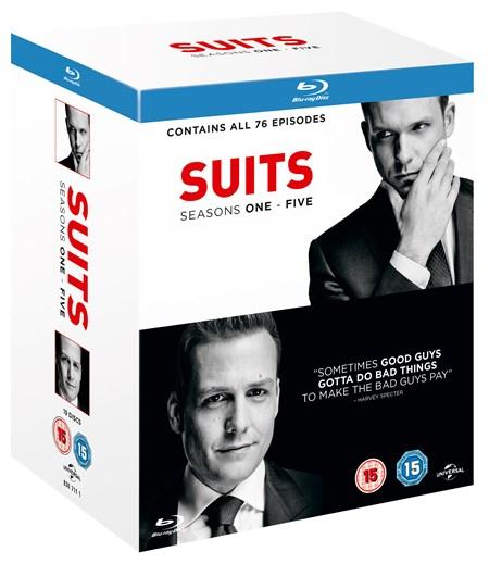 Suits - Staffel 1 - 5 (Blu-ray) für 25,77€ (Zoom.co.uk)