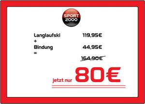 Regional Deal bei Sport2000 in Wolfsburg, 20% Rabat am 13.04.18
