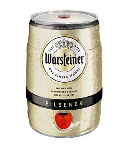 [AMAZON PRIME] Warsteiner Premium Pilsener 5 Liter Fass
