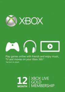 Xbox Live Gold – 12 Monate für 31,94 Euro (ca. 2,66/Monat)