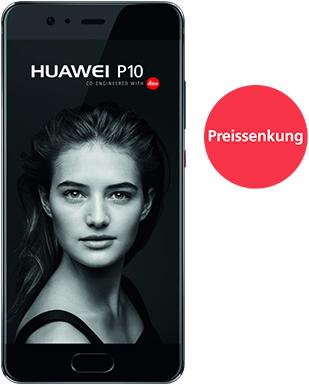 o2 Free L + Huawei P10 für 29,99€/Monat + 95,98€ Zuzahlung 20 GB Datenvolumen – für junge Leute 24,99€/Monat mit 30 GB!