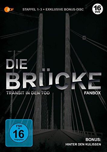 [Amazon Prime] Die Brücke - Transit in den Tod Staffel 1-3 der Serie (9 Blu-rays + 1 DVD) als limitierte Fanbox für 26,99€