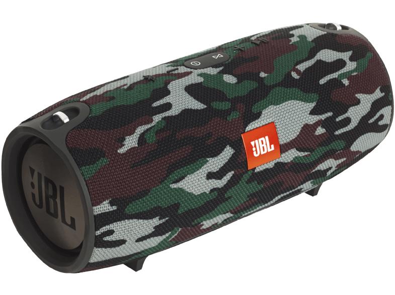 JBL Xtreme Special Edition Camouflage Bluetooth Lautsprecher (10,000 mAh Akku, Dualem USB-Ladeanschluss, Freisprechfunktion) für 169€ versandkostenfrei (Media Markt)