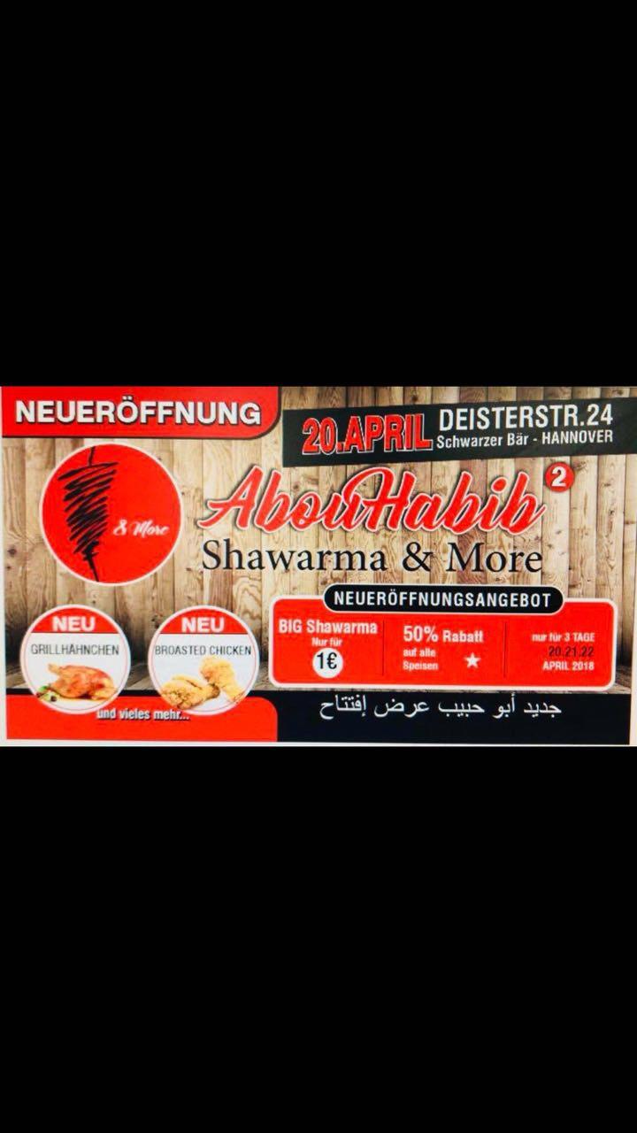 Big Shawarma 1€ Lokal Hannover