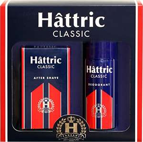 Hattric Geschenkset 150 ml Deodorant + 100 ml After Shave für 88 Cent + Versand [Amazon Pantry Box]