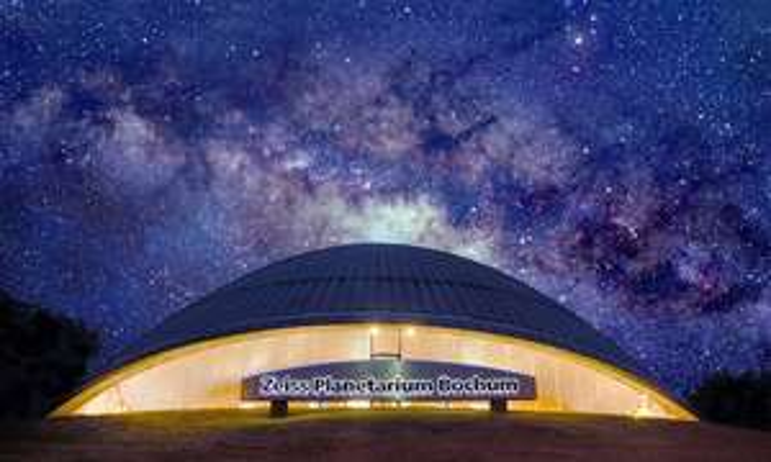 2  Eintrittskarten für das Zeiss Planetarium Bochum inkl. Musikshows