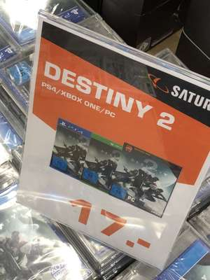 (Lokal - Saturn HH) Destiny 2 (PS4/Xbox One/PC )