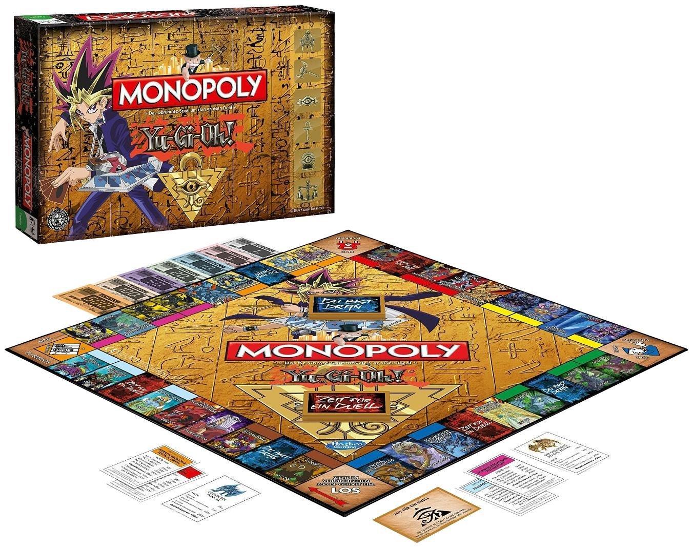Winning Moves Monopoly Yu-Gi-Oh! - Brettspiel (2-6 Spieler, ab 8 Jahren) [alternate]
