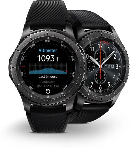 Samsung Gear S3 Frontier Smartwatch bei Berlet lokal und online