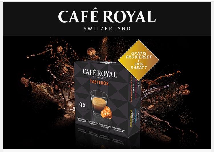 GRATIS Café Royal Kapseln für das Nespresso®*-System