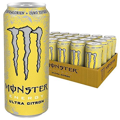 [Amazon] Monster Ultra Citron, 12er Pack (12 x 500 ml) zzgl. Pfand
