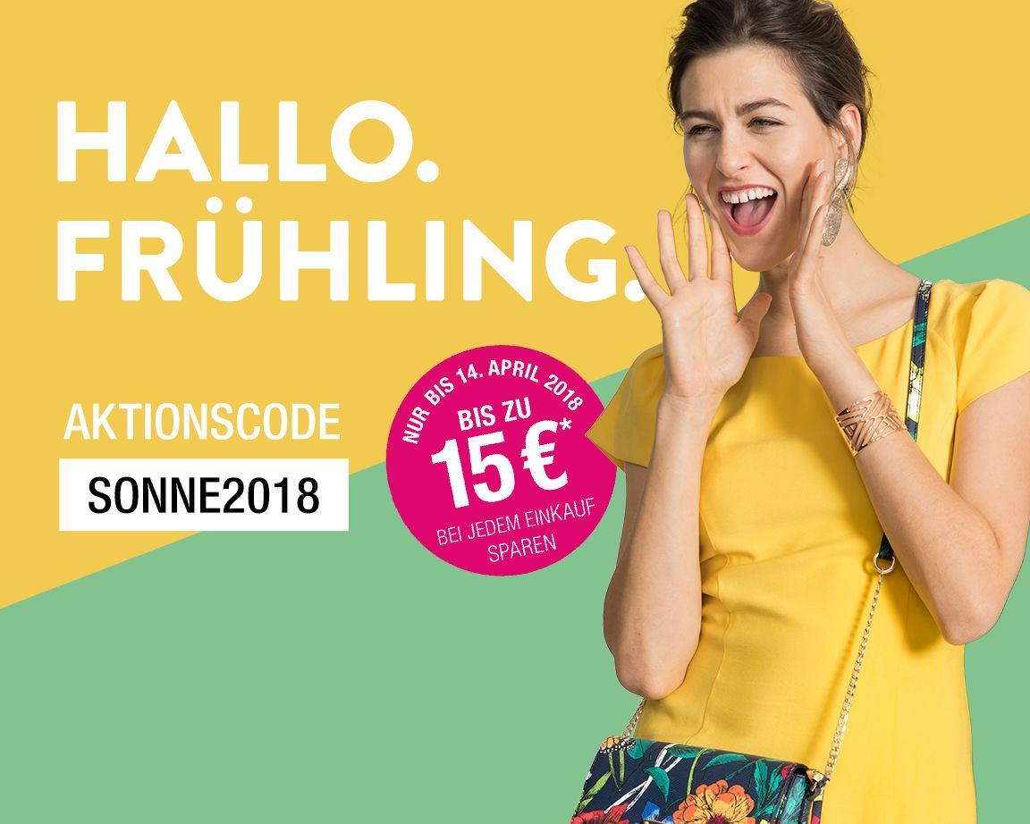 Galeria Kaufhof: Frühlingsrabatt bis zu 15€ (Online & vor Ort)