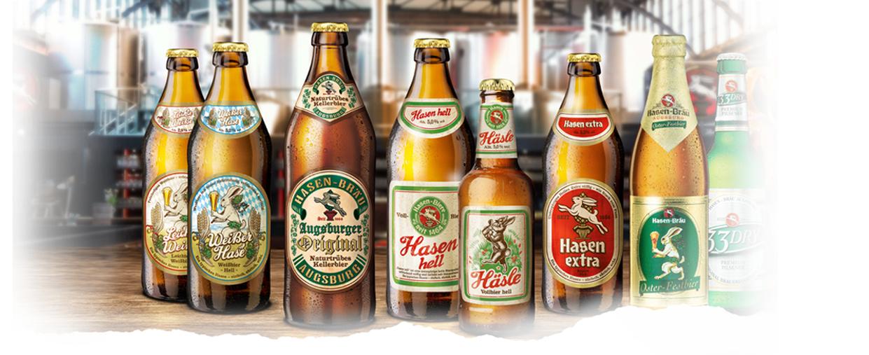 [Edeka und Marktkauf Augsburg] 4 Flaschen gratis zu jedem Kasten Hasenbräu