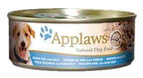 16 Dosen? Applaws Hundefutter, Meeresfisch und Seetang, Nassfutter, Dose, 1er Pack (1 x 2.496 kg)