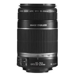 [Amazon - lieferbar 20.04.] Canon EF-S 55-250 mm 4,0-5,6 IS Objektiv (58 mm Filtergewinde, bildstabilisiert, Original Handelsverpackung)