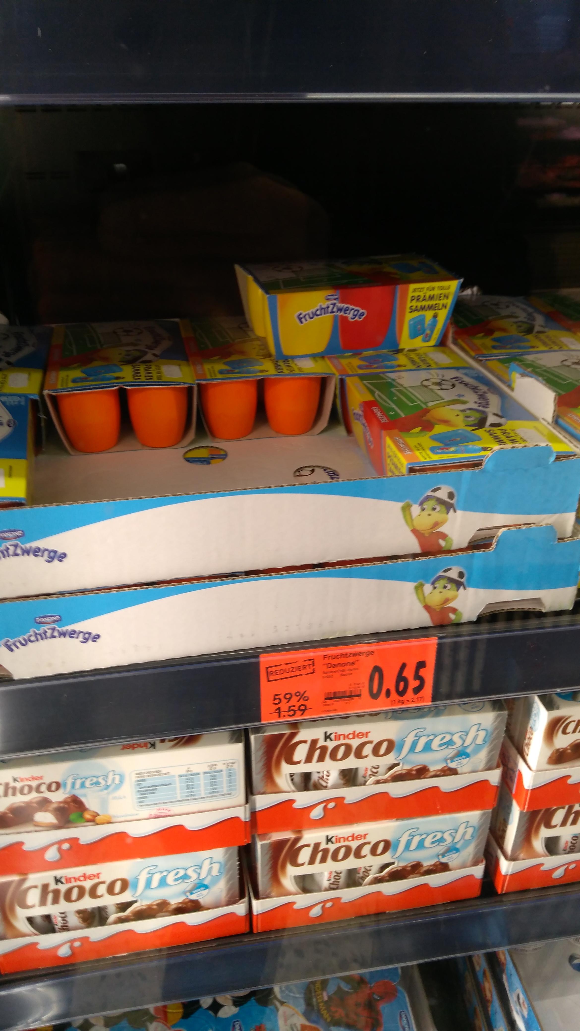 [lokal Potsdam Kaufland] Fruchtzwerge für 0,25€