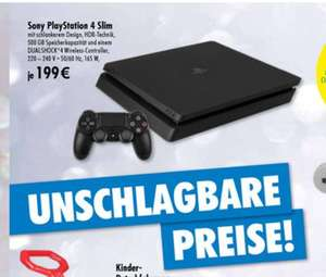 [Lokal Tedi Berlin-Lichtenberg] Sony PlayStation 4 (PS4) Slim 1 TB bei Tedi