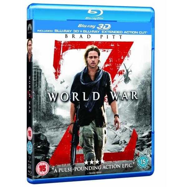 World War Z (3D Blu-ray + Blu-ray) für 5,49€ (Shop4de)