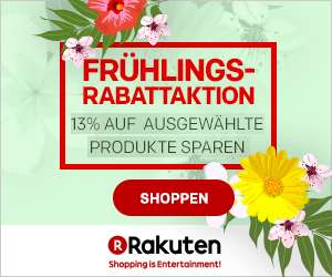 Rakuten Frühlingsaktion mit 13% Rabatt auf ausgewählte Produkte - z.B. AEG T8DE86685 für 631,62€ statt 689€