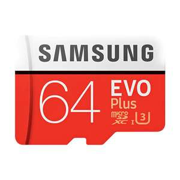 Samsung EVO Plus 64GB Micro SDXC UHS-3 Professional Memory Card für 15,55€ [Gamiss]