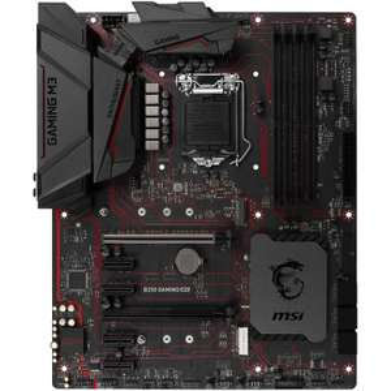 [NBB] MSI B250 GAMING M3 Mainboard, Sockel 1151, 4x DDR4 DIMM, 6x SATA, USB 3.1