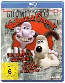Wallace und Gromit - Complete Collection (Blu-ray) für 7,99€ (JPC)