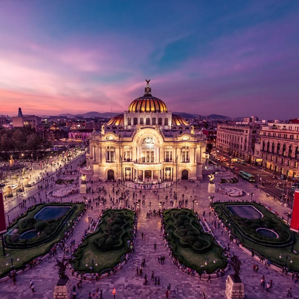 Business Class Flüge: Mexiko [Juli - August] - Hin- und Rückflug mit AeroMexico von Zürich nach Mexiko-Stadt ab nur 1338€