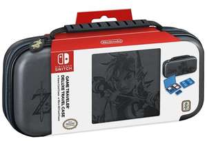 Nintendo Switch Zelda Tasche Travel Case Deluxe Set für 14,96€ (GameStop)