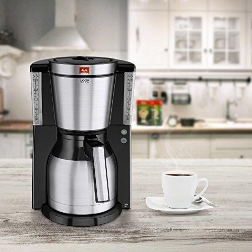 Melitta, Filterkaffeemaschine mit Thermoskanne LOOK Therm DeLuxe