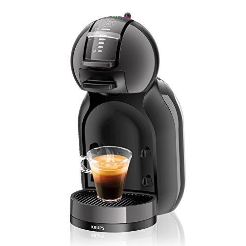 [Amazon oder Real] Krups KP 1208 Nescafé Dolce Gusto Mini Me Kaffeekapselmaschine (1500 Watt, automatisch) anthrazit/grau