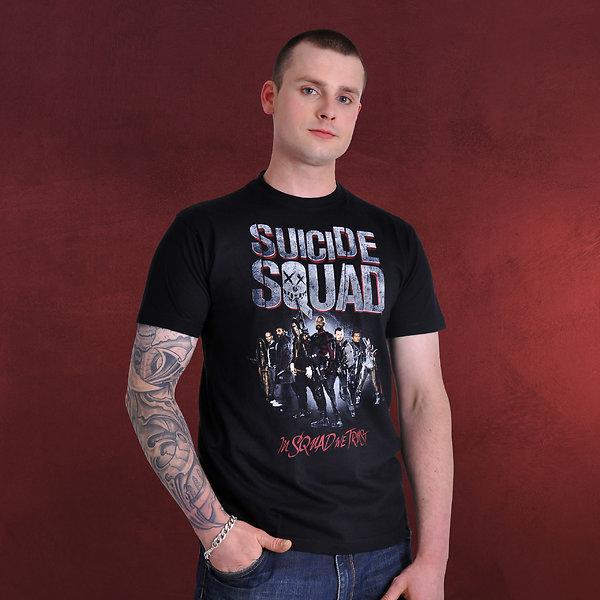 Suicide Squad - Gang T-Shirt schwarz