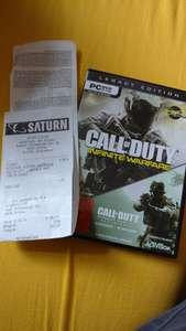 [offline:Saturn Zwickau] Call of Duty Infinite Warfare + Call of Duty Modern Warfare Remastered