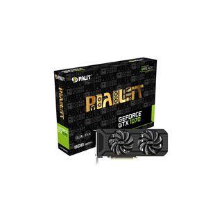 8GB Palit GeForce GTX 1070 Dual Aktiv PCIe 3.0 x16 (Retail) im MindStar für nur 413,10€