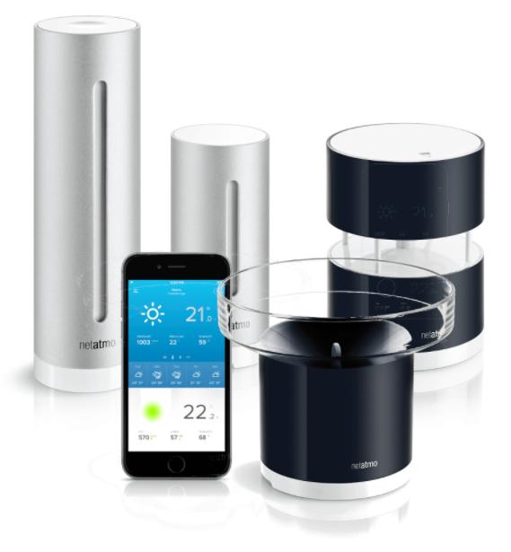 Netatmo Wetterstation, Premium Set und Einzelsensoren