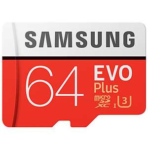 Samsung EVO Plus 64GB Micro SD Card UHS-I U3 für 15,42€ (Lightinthebox)